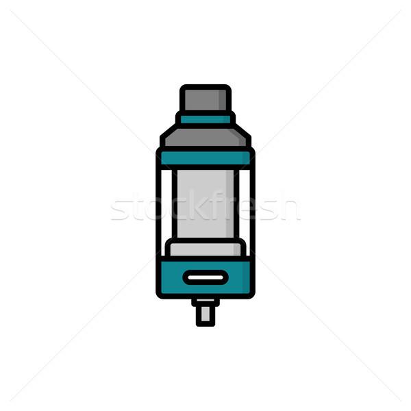 personal vaporizer e-cigarette atomizer tank clearomizer atty Stock photo © vector1st