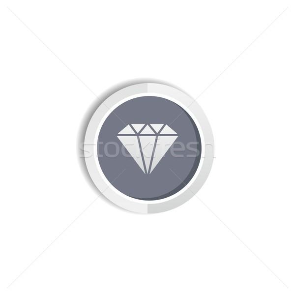 Diamant bijoux vecteur art illustration Photo stock © vector1st