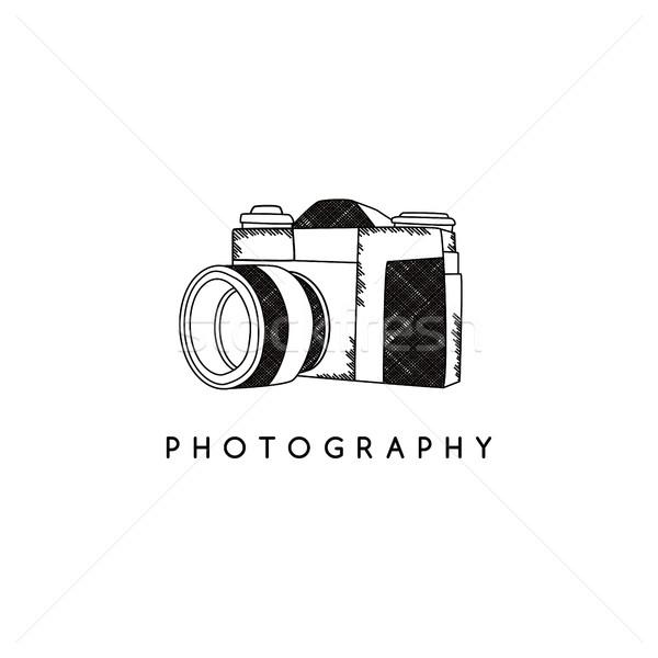 photography camera theme Stock photo © vector1st