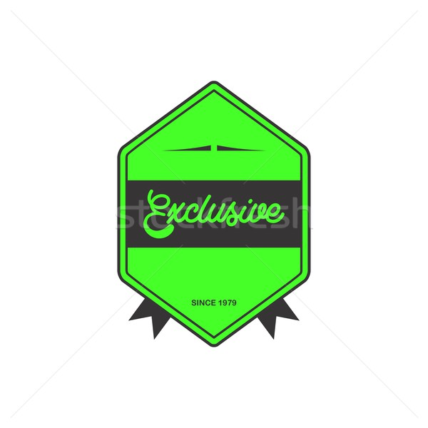 label sticker Stock photo © vector1st