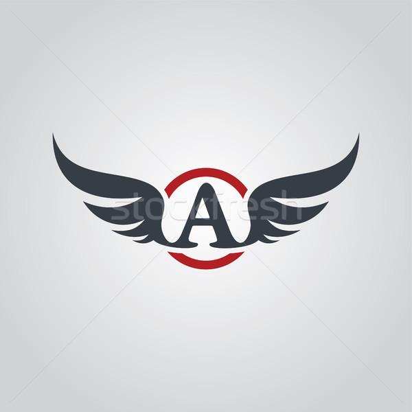 aviator symbol logo logotype theme Stock photo © vector1st