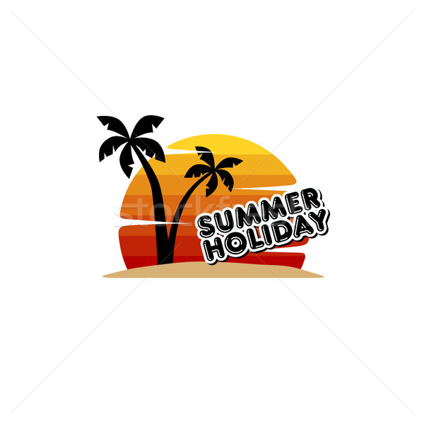 summer holiday beach vacation Stock photo © vector1st