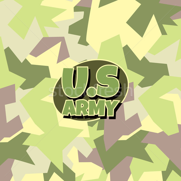 army camouflage background Stock photo © vector1st