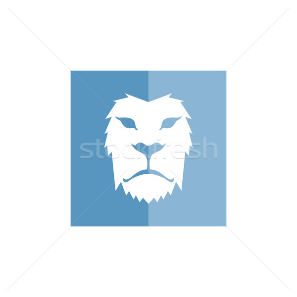 lion head template vector illustration vector1st 7145517