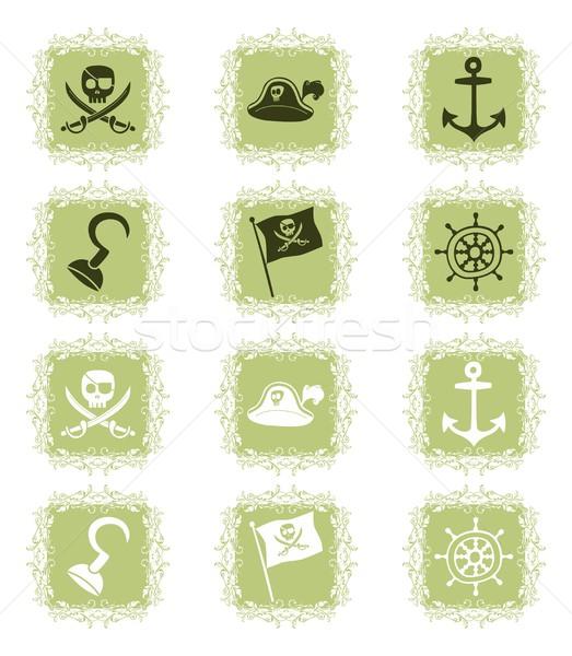 Művészet illusztráció szerkeszthető vektor grafikus terv Stock fotó © vector1st