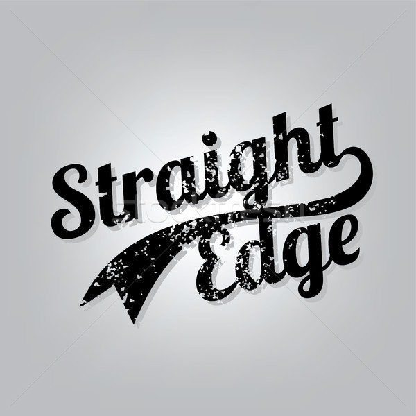 Straight Edge Stock photo © vector1st