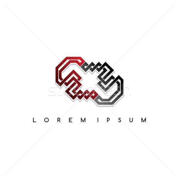 にログイン ロゴ ロゴタイプ ベクトル 芸術 実例 ストックフォト © vector1st