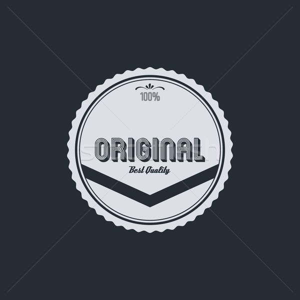original badge Stock photo © vector1st