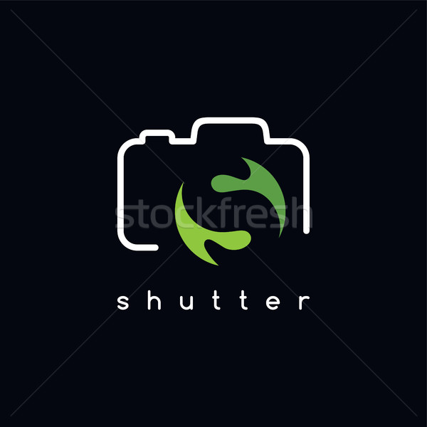photography logotype S letter theme Stock photo © vector1st