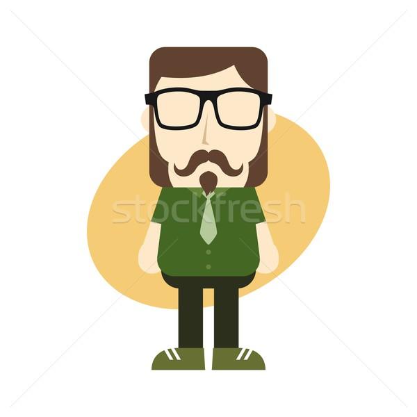 Cartoon Guy avatar photos homme Photo stock © vector1st