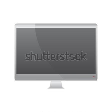 технологий мобильных компьютер вектора искусства Сток-фото © vector1st