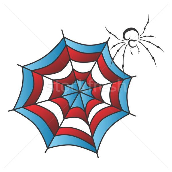Kleur kunst vector grafische illustratie Stockfoto © vector1st