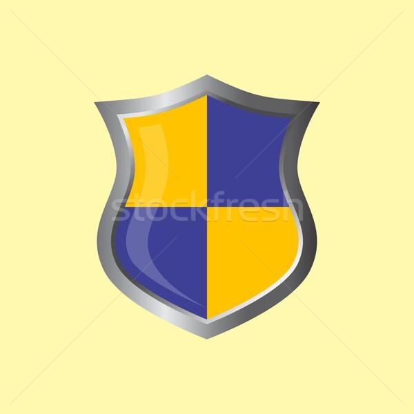 Insignia escudo vector arte gráfico ilustración Foto stock © vector1st