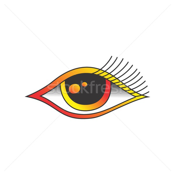 one eye of god Stock photo © vector1st
