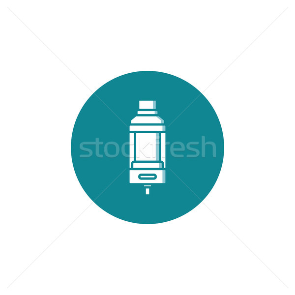 personal vaporizer e-cigarette atomizer tank clearomizer atty Stock photo © vector1st