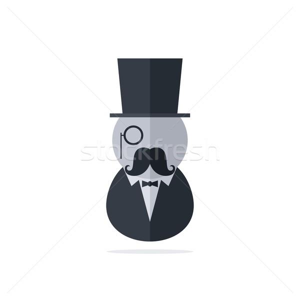 tuxedo man Stock photo © vector1st