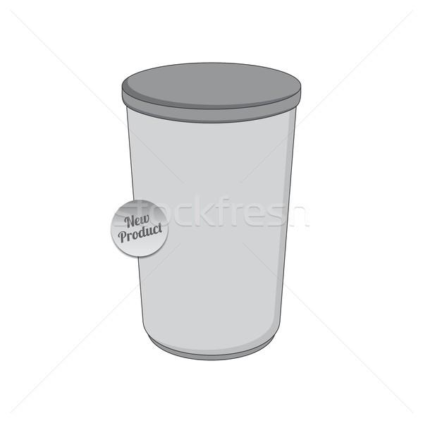 ürün sanayi paketleme konteyner vektör grafik Stok fotoğraf © vector1st
