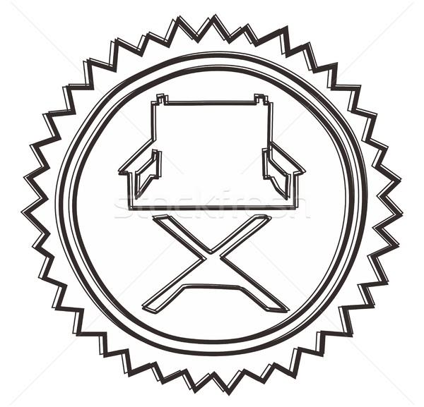 Botón icono vector gráfico arte diseno Foto stock © vector1st