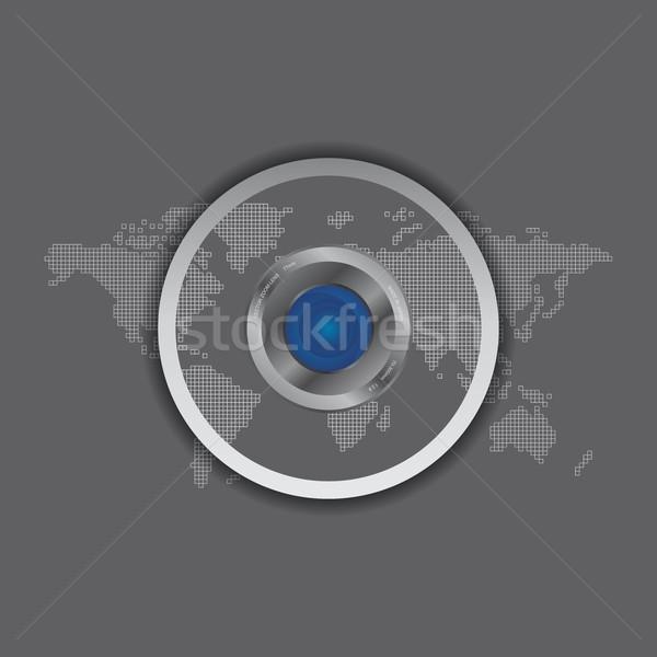 камеры фото видео интерфейс вектора графических Сток-фото © vector1st