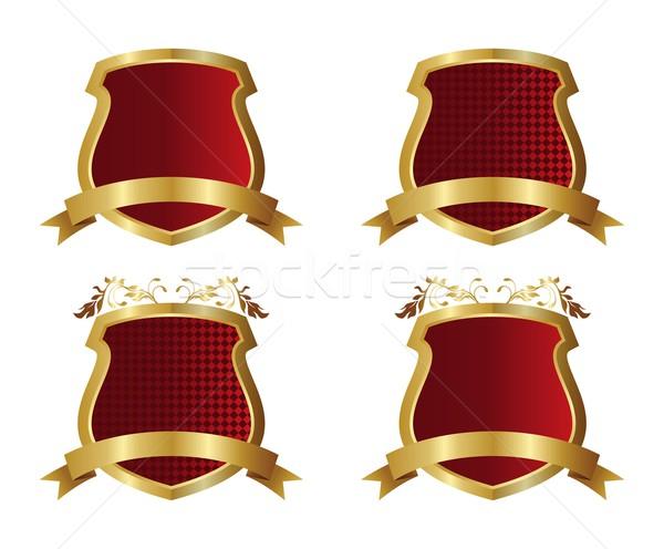 Arte escudo vector gráfico diseno ilustración Foto stock © vector1st