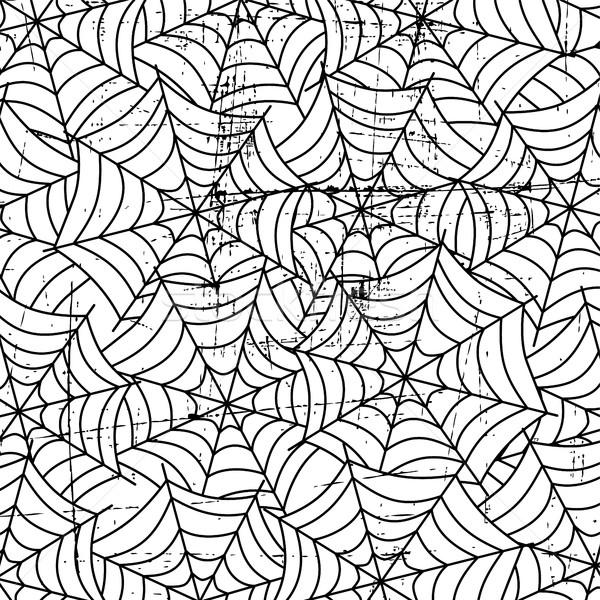 Pajęczyna sztuki wektora ilustracja projektu sieci Zdjęcia stock © vector1st