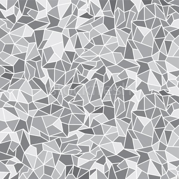 Abstract kleurrijk driehoek meetkundig textuur Blauw Stockfoto © vector1st