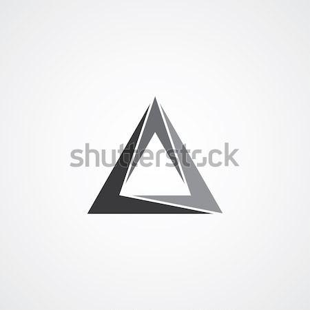 triangle logotype theme Stock photo © vector1st