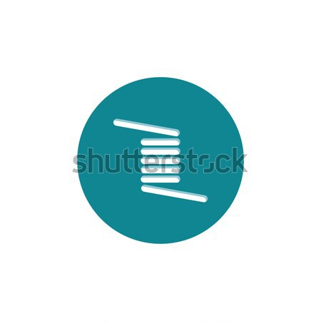 personal vaporizer e-cigarette coil Stock photo © vector1st