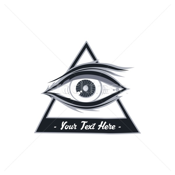 Stock photo: eye illustration
