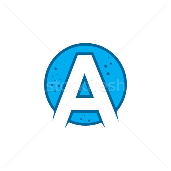 Сток-фото: письме · воды · жидкость · логотип · шаблон