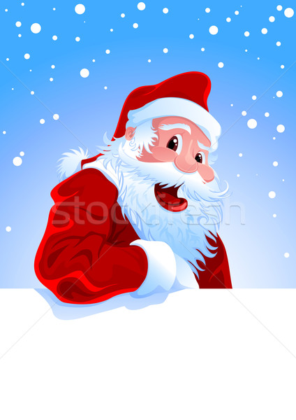 Happy Santa Stock photo © vectorArta