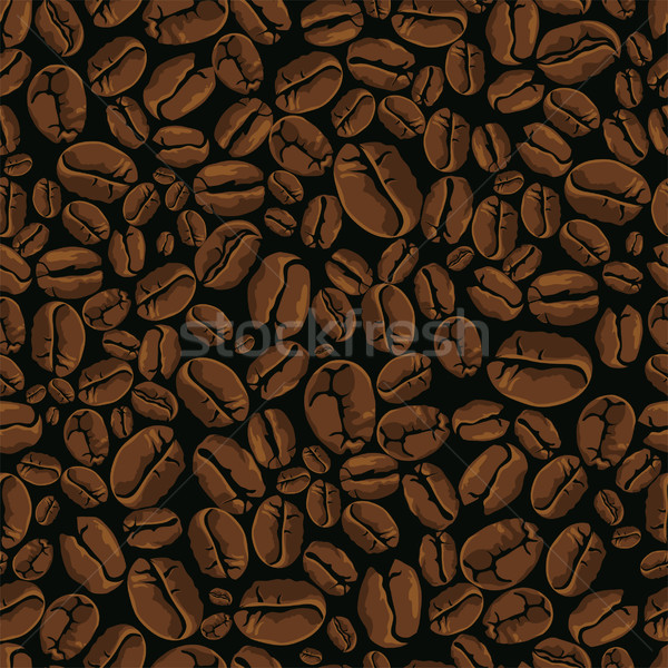 coffee vector seamless Stock photo © vectorArta