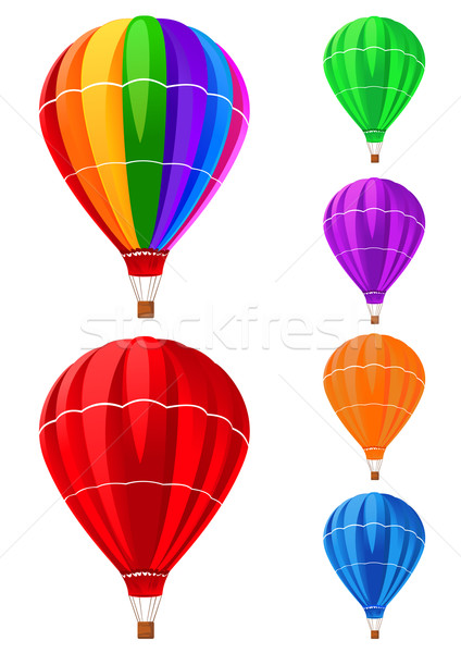 balloons collection Stock photo © vectorArta