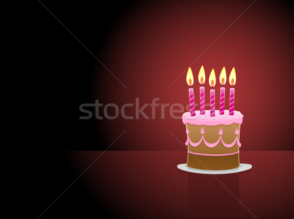 Birthday Cake Stock photo © vectorArta