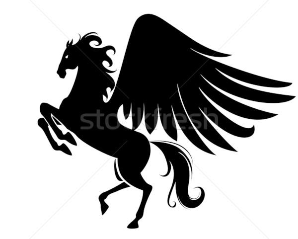 Pegasus Stock photo © vectorArta