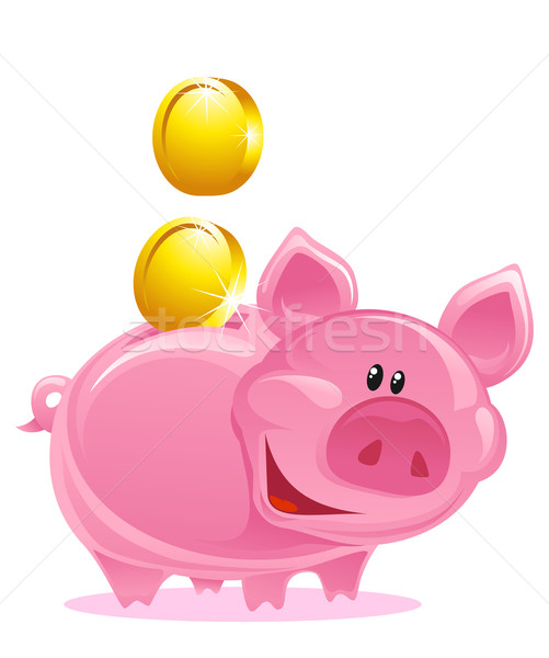Piggy Bank Stock photo © vectorArta