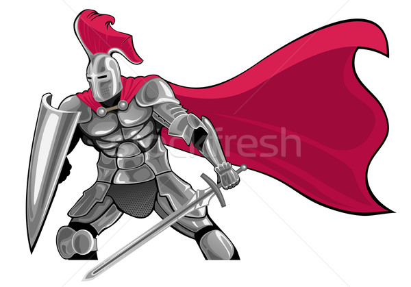 knight Stock photo © vectorArta