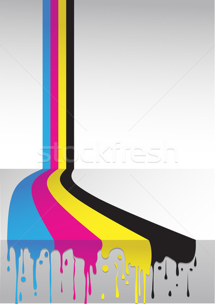 cmyk flow Stock photo © vectorArta