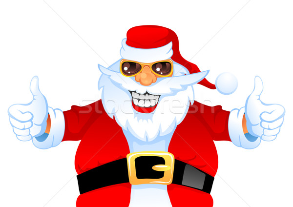 Cool happy Santa Stock photo © vectorArta