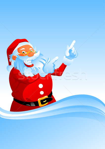 Santa shows up Stock photo © vectorArta