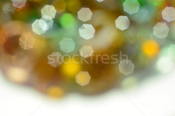 ünnepi puha meleg színek ki fókusz Stock fotó © Vectorex