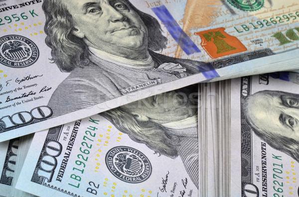 New dollar banknotes Stock photo © Vectorex