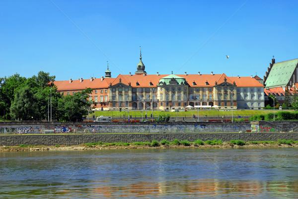 Varsovie vue ville cityscape Photo stock © Vectorex