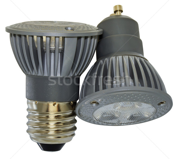 Spotlight deux pouvoir différent design technologie Photo stock © Vectorex