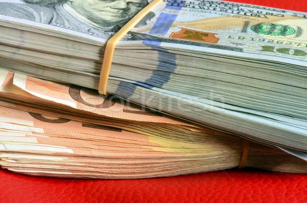 Pénz tíz ezer amerikai dollár öt Stock fotó © Vectorex