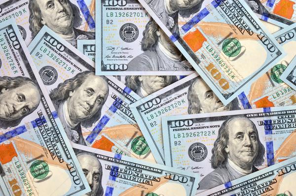 Dollars nouvelle imprimé affaires banque Photo stock © Vectorex