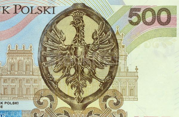 Polish 500 zloties banknote Stock photo © Vectorex
