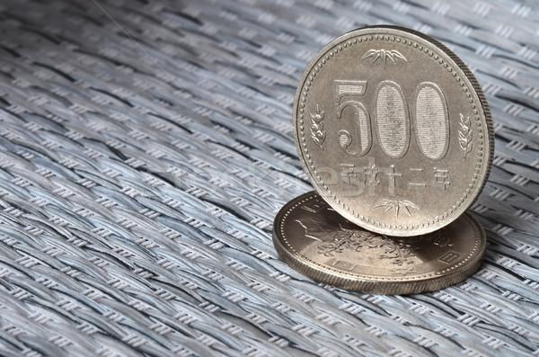 Japán valuta érmék kettő érték öt Stock fotó © Vectorex