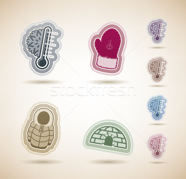 Winter Stock photo © Vectorminator