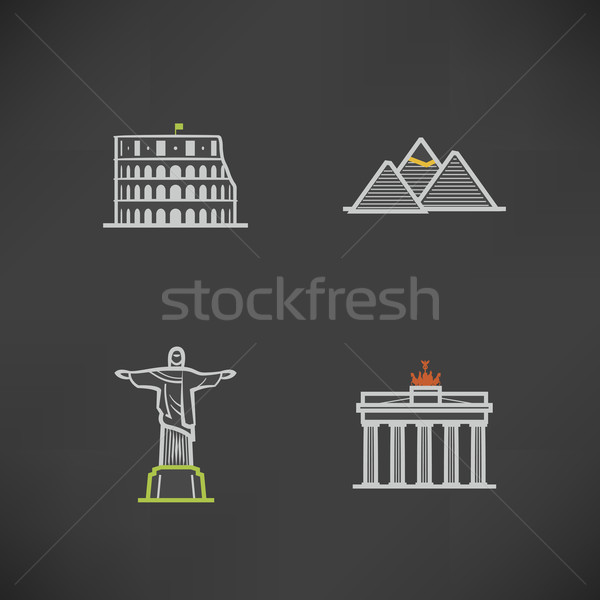 Stock photo: World Landmarks